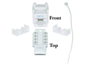 Cable Wholesale Cat 6 Keystone Jack, White, RJ45 Female to 110 Punch Down