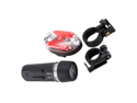 Ultra Bright Waterproof 5 LED Bike Head Light + 9 LED Rear Flashlight for Biking Bicycle
