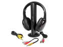 TDD 5N1 5-in-1 Wireless Headphones with FM Radio, Microphone, and Monitoring Feature