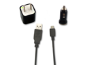 USB Data Cable + AC Wall Charger+ Car Charger for LG Neon 2 GW370 Encore GT550
