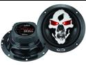 "Boss Audio Sk653 Phantom Skull 3-Way  Speakers With Tooled Skull Cover (6.5"")"