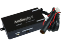 NEW AUDIOPIPE RFM300 FM MODULATOR 2 CH ON/OFF SWITCH ADJUSTABLE OUTPUT LEVEL