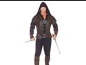 Mens Medieval Renaissance Huntsman Woodsman Halloween Costume