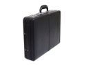 Expandable Leather Attache Case Briefcase Hard Sided Legal Size