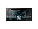 Kenwood Double Din CD Receiver with USB/AUX/SiriusXM Ready