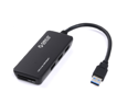 ORICO H3TS-U3 3-Port Bus-Powered USB 3.0 Hub with Built-In TF & SD Card Reader