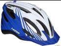Lazer Vandal Helmet with Visor: White/ Blue~ Unisize