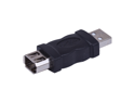 USB A Male To IEEE Firewire 1394 6 Pin Female Adapter