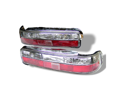 Acura Integra 1990 91 92 93 2Dr Altezza Tail Lights - Red Clear