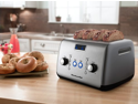 KitchenAid KMT423CU Contour Silver 4 Slice, One-touch motorized lift control Toaster