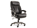 Veon Series Executive High-Back Leather Chair, W/ Coil Spring Cushioni