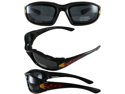 Birdz Oriole Shatterproof Anti-Fog Polycarbonate Motorcycle Glasses with Wind Blocking Foam