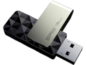 Silicon Power 128GB Blaze B30 USB 3.0 Swivel Flash Drive, Black (SP128GBUF3B30V1K)