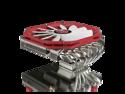 RAIJINTEK PALLAS, High-End Low Profile CPU Cooler, 6pcs 6mm Heat-Pipe, Slim 14013 PWM Fan, Fully Nickel Plating, Copper Base, Total 68mm Heigth Including Fan, Supports Intel & AMD Modern CPU Sockets