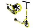 EXOOTER M1550BG 6XL Adult Kick Scooter With Front Shocks and 180mm/240mm Wheels - Vibrant Green