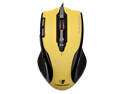 Tesoro Shrike H2L V2 8200 DPI 8 Programmable Onboard Memory Key Adjustable Weight Yellow Laser Gaming Mouse TS-H2L (YL)