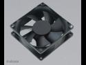 New Akasa Ultra Quiet 80mm Black Case Fan Sleeve Bearing