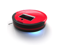 bObsweep PetHair Robotic Vacuum Cleaner and Mop - Rouge