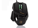Bazalias X1 2015 New LED Gaming Mouse 2400 DPI Wired USB Optical Mice for PC and Mac, 6 Programmable Buttons, Omron Micro Switches