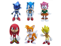 "6pcs Set Sonic the Hedgehog Amy Tails Mephiles the Dark Knuckles 6cm/2.4"" PVC Figure Sonic the Hedgehog Action Figure Toy"