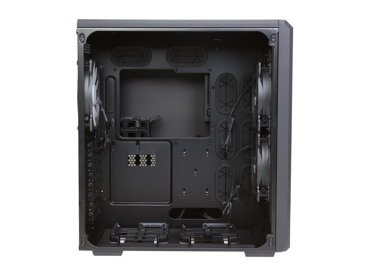 CC-9011030-WW Corsair Carbide Series Air 540 Black Steel High Airflow ATX Cube