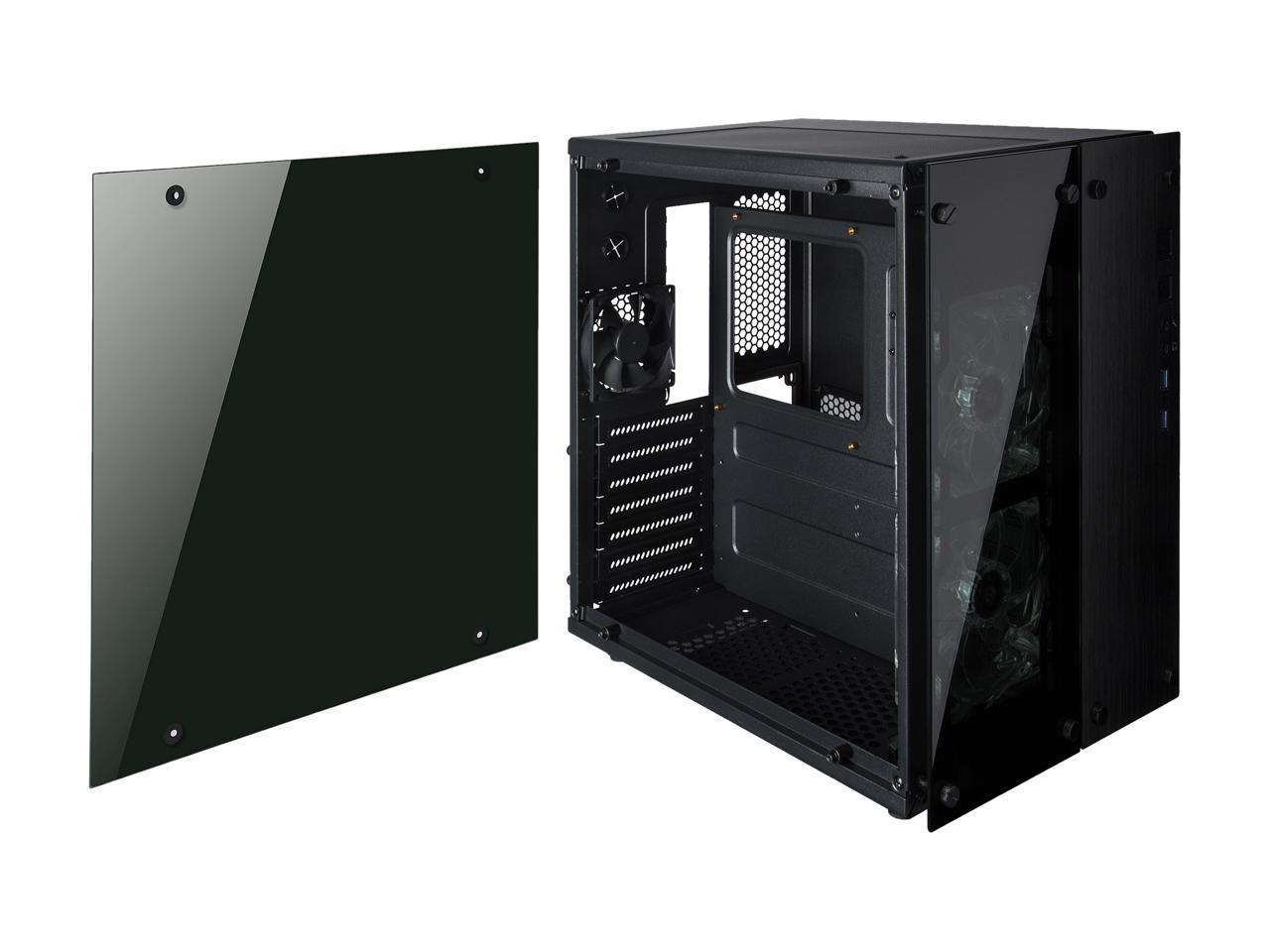 Rosewill Cube Mini ITX/Micro-ATX/ATX Mid Tower Gaming PC ...