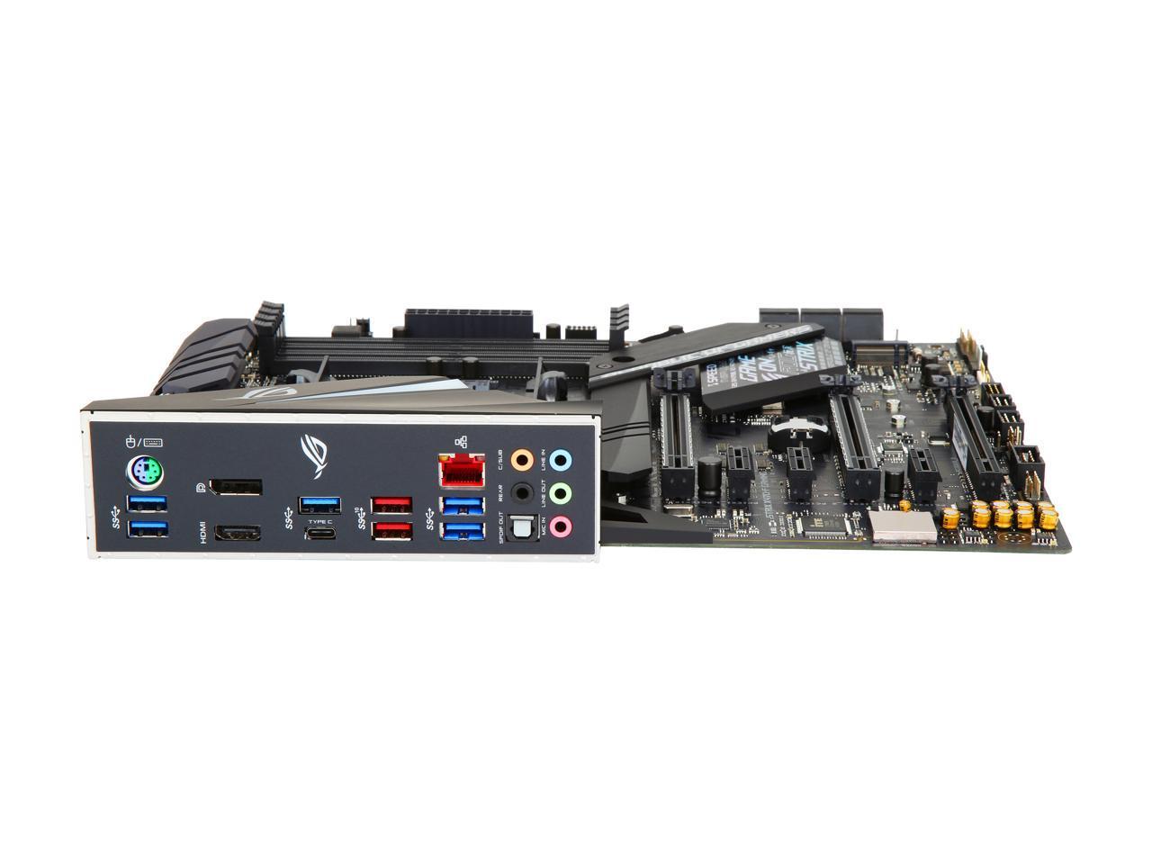 Details about ASUS ROG Strix X470-F Gaming AM4 AMD X470 SATA 6Gb/s USB 3 1  HDMI ATX AMD Mother