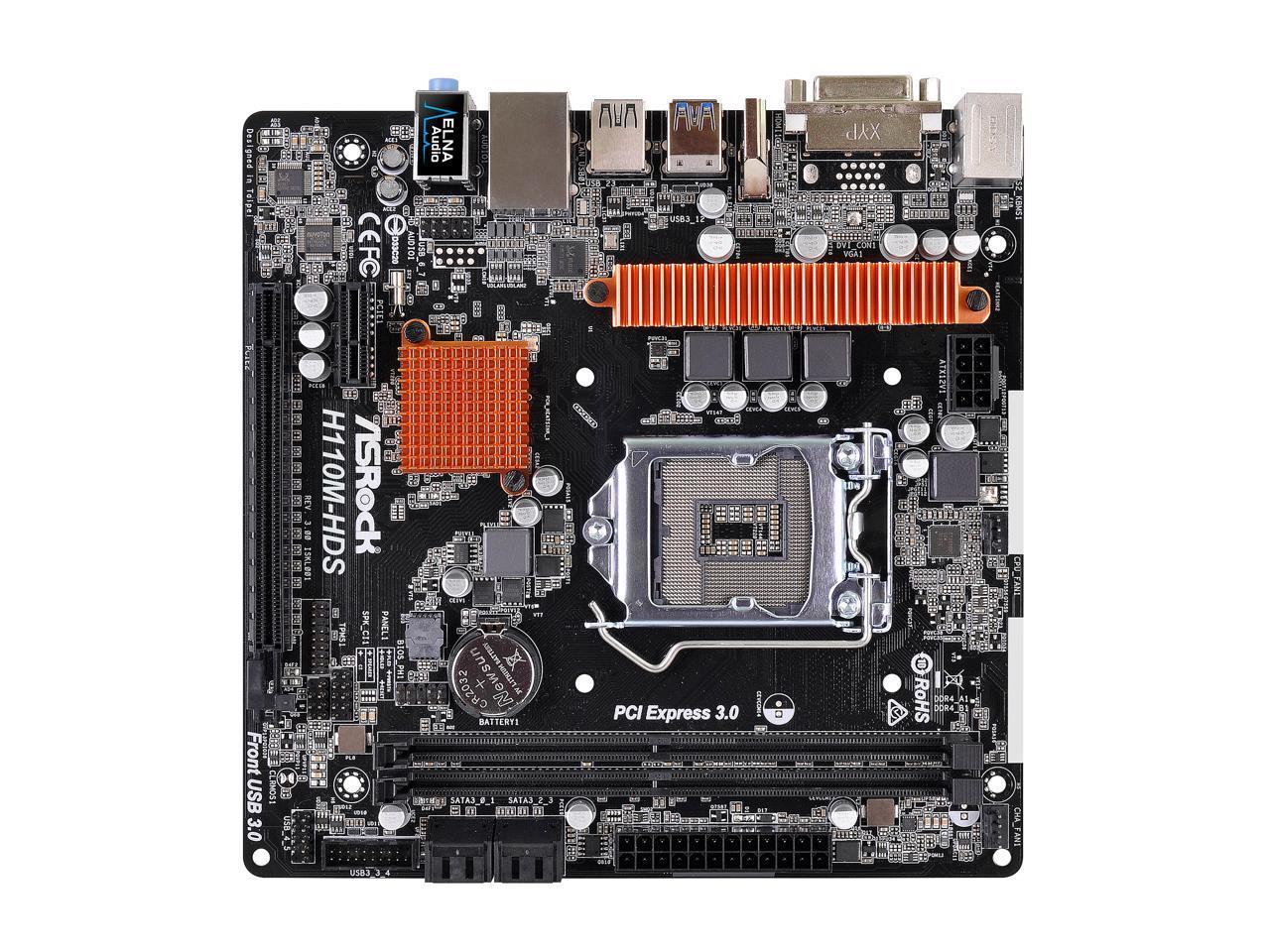 Download Driver: ASRock H110M-HDS Motherboard