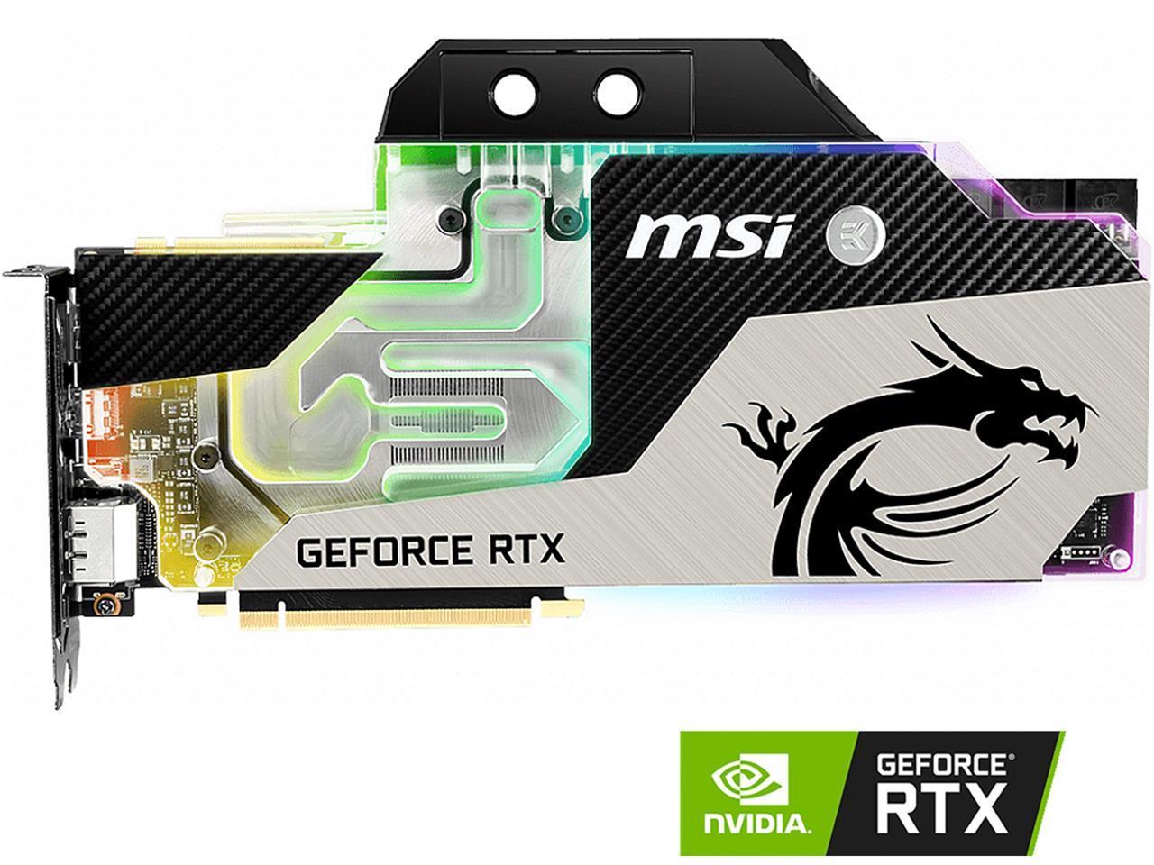 Details about MSI GeForce RTX 2080 Ti DirectX 12 RTX 2080 TI SEA HAWK EK X  11GB 352-Bit GDDR6