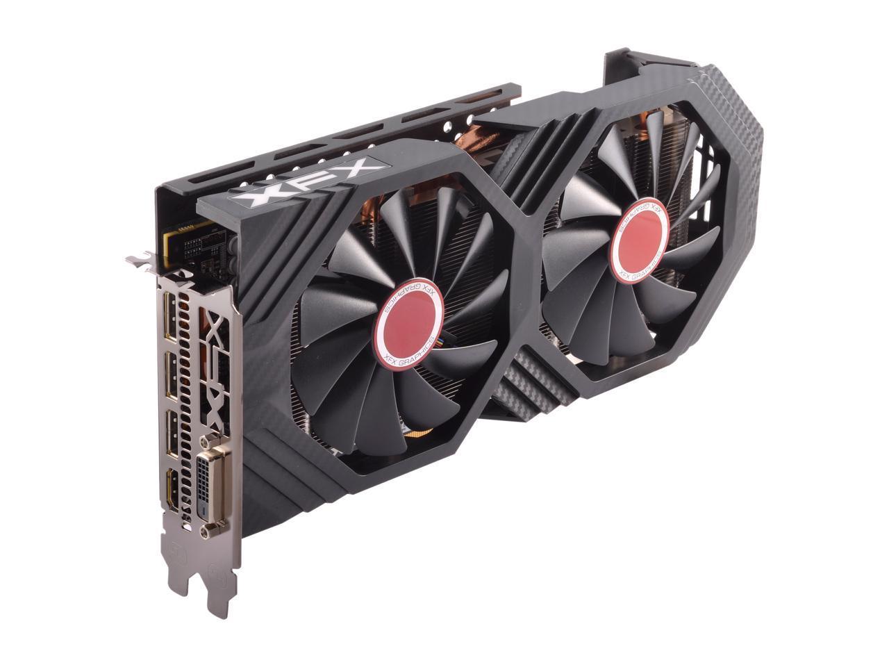 Details about XFX Radeon RX 580 GTS Black Edition 1405 MHz OC+, 8GB 256-bit  GDDR5, DX12 VR Rea