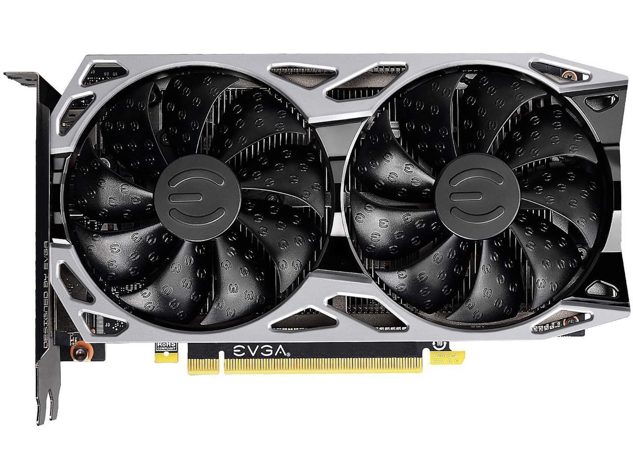 04G-P4-1151-KR 4GB GDDR5 EVGA GeForce GTX 1650 XC Black GAMING Video Card