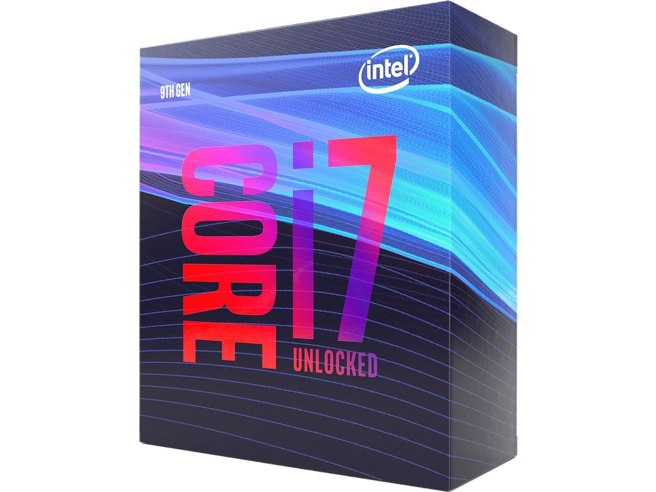 Unlocked 9th Gen Intel® Core<sup>TM</sup> i9-9900K Processor