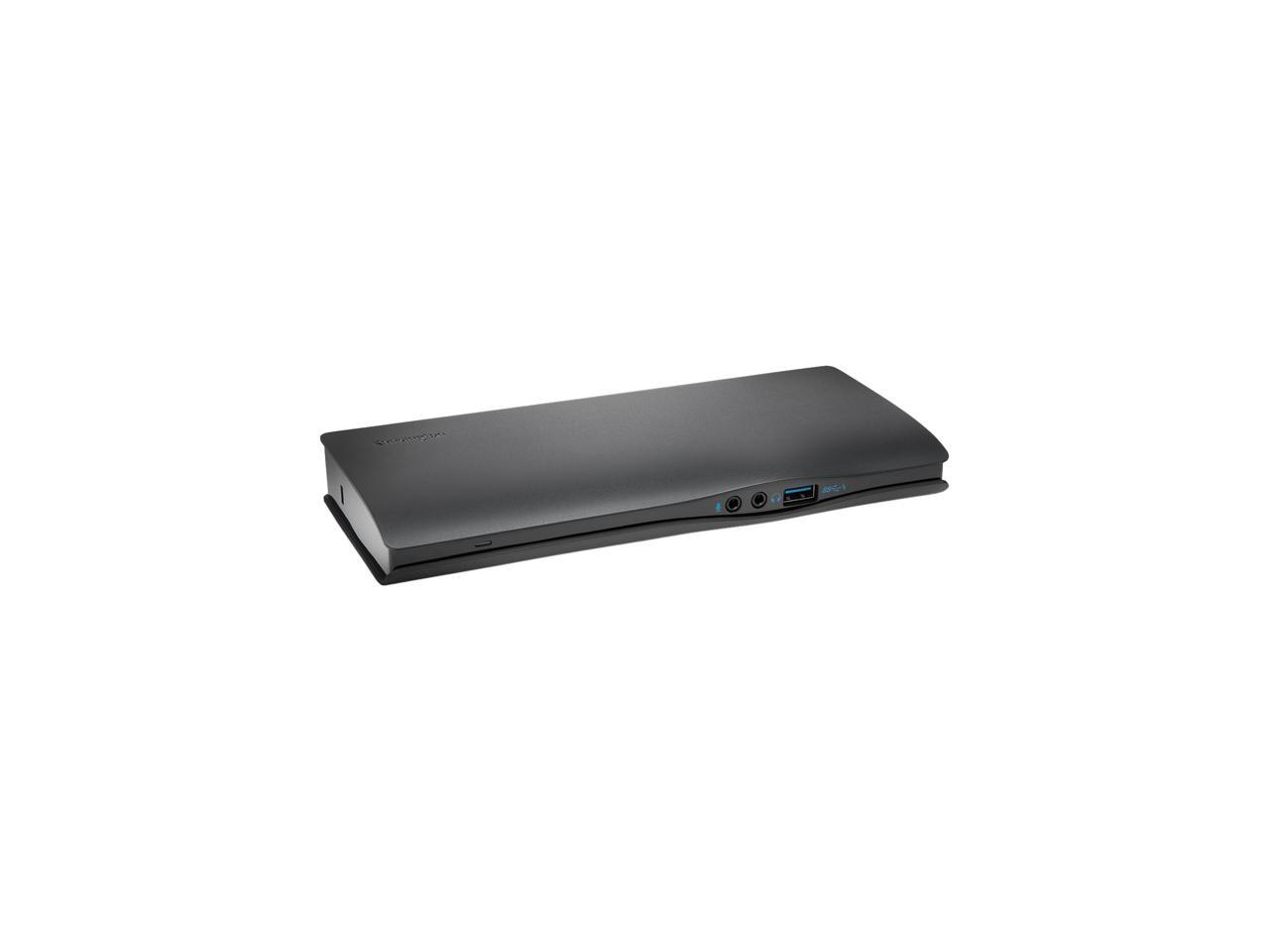 Kensington SD4610P USB-C 5Gbps Dual 1080p Docking Station w// 60W ad K38350NA
