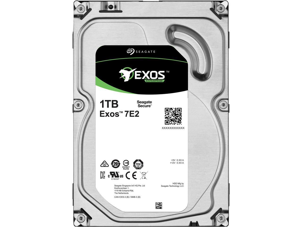 Seagate 3TB Enterprise Capacity HDD SATA 6Gb//s 128MB Cache 3.5-Inch Internal Bare Drive ST3000NM0033