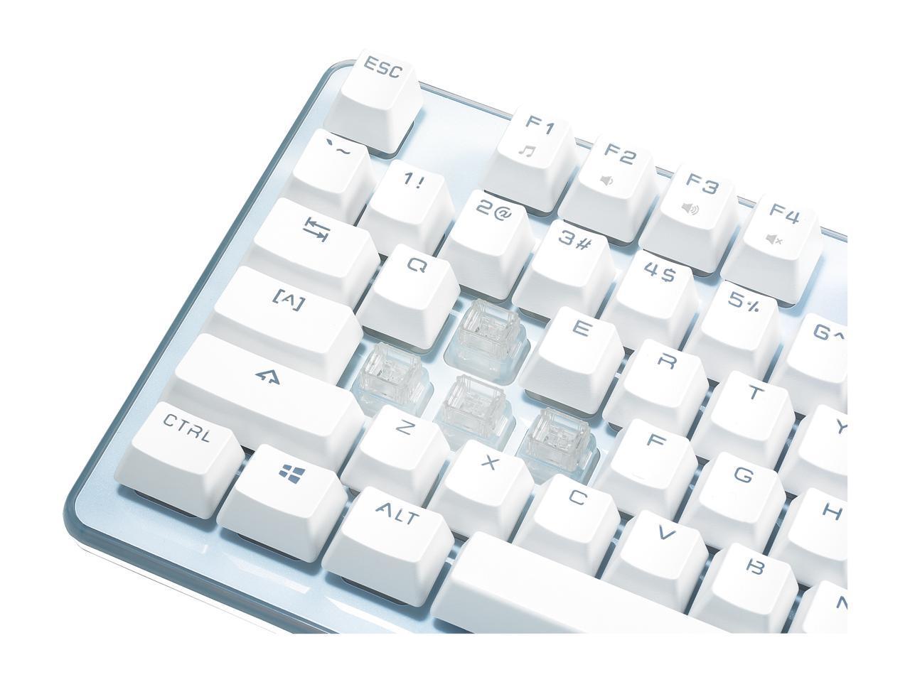 1a57b8b818e Rosewill NEON K51 - Hybrid Mechanical RGB Gaming Keyboard / Multicolor  Backlit K