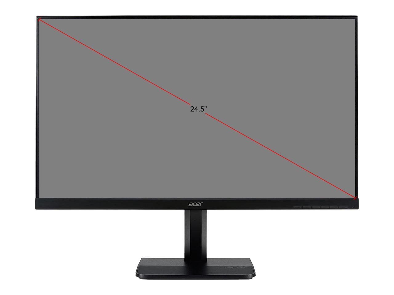 "Details about Acer KA251Q Abmidx Frameless 24 5"" Monitor, 1920 x 1080, 5ms,  Flicker-less, Blue"