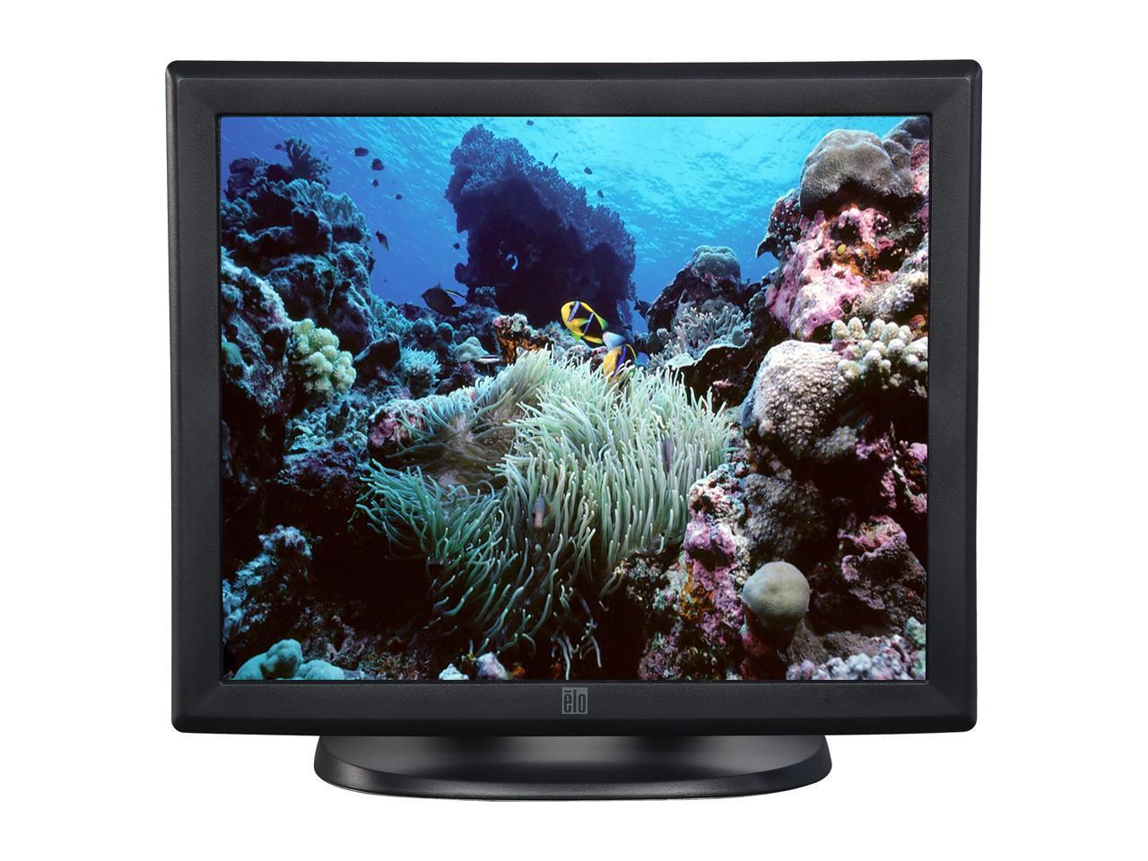 "Sin OSD 5-Wire Resistive Elo E607608 1915L 19/"" Touchscreen Monitor AccuTouch"