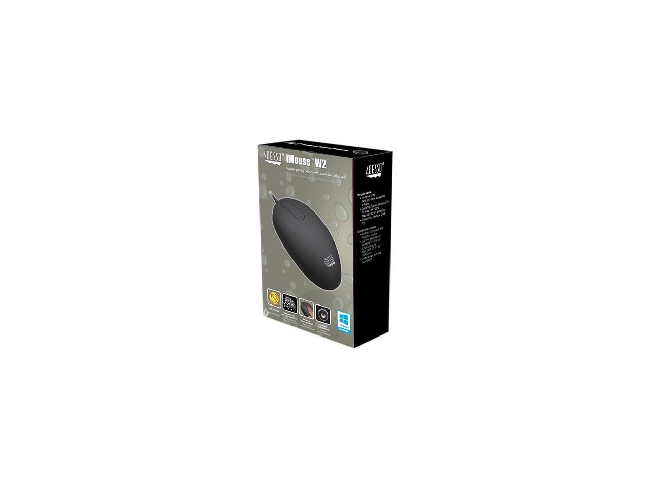 Replacement for Parts-IMOUSEW2 Adesso Antimicrobial Touch Scroll USB Mouse with Advanced Touch Scroll PAD W