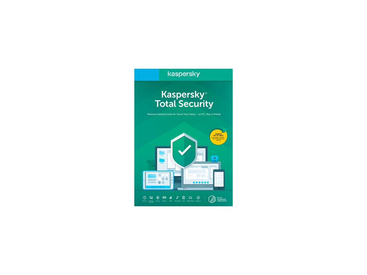 Kaspersky Internet Security 2019 For Andriod Key Card 1 USER 1 Year Key