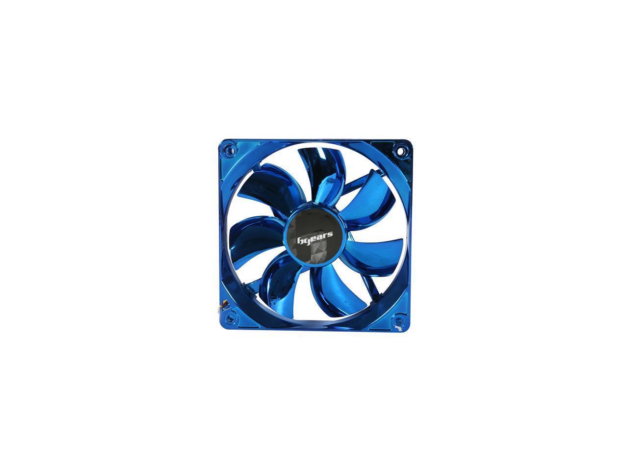 Bgears b-ice 140mm Blue LED Fan with Blue Chrome Coating