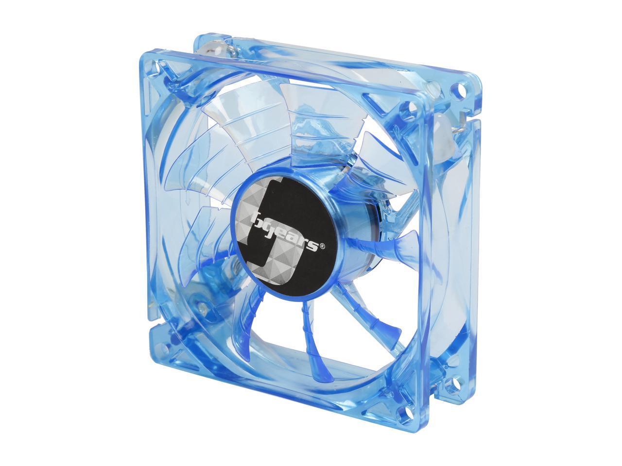 Bgears B-PWM 140mm Blue LED PWM Case Fan