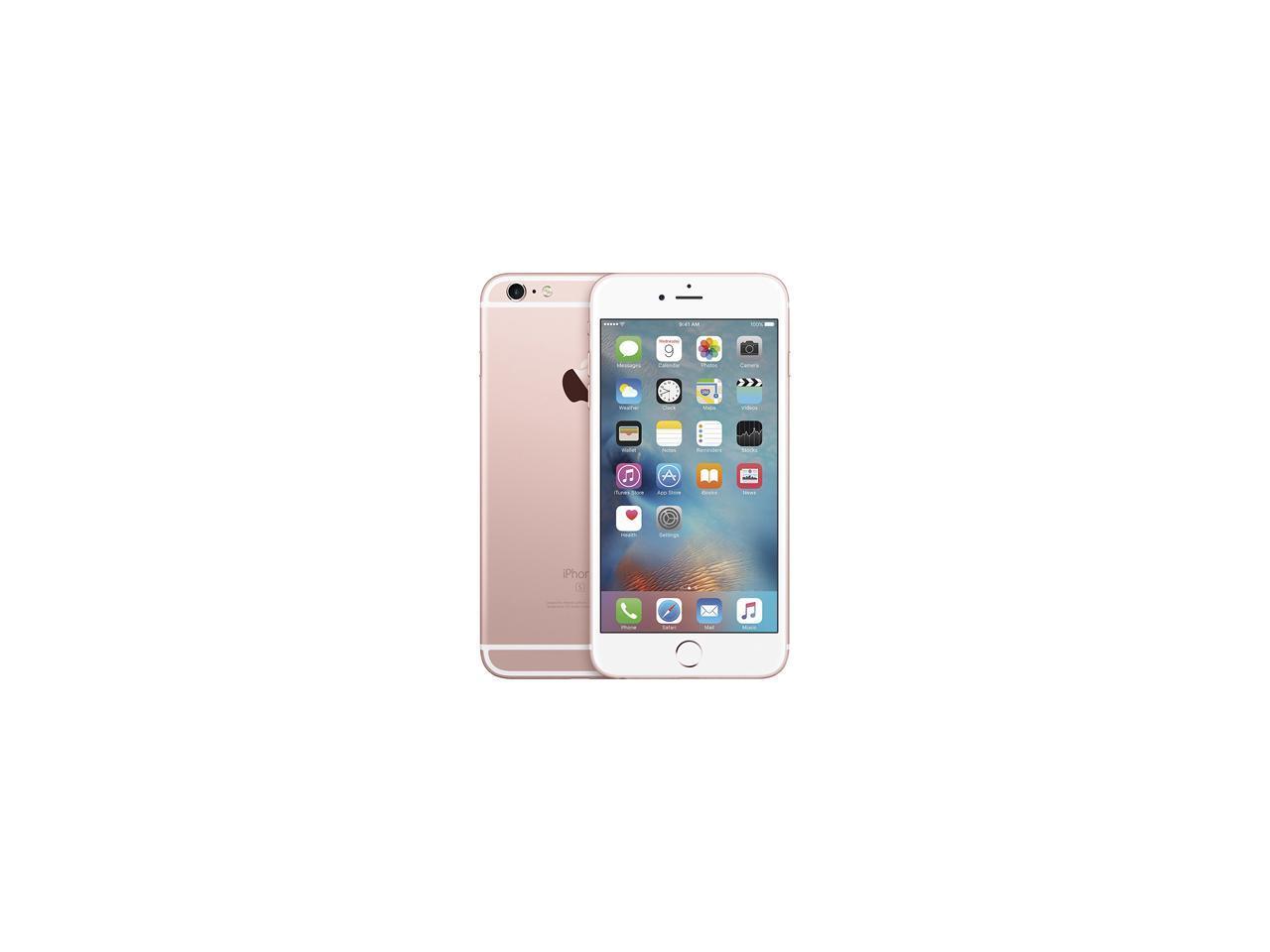 Apple iPhone 6s Plus 4G LTE Unlocked GSM Dual-Core Phone w ...
