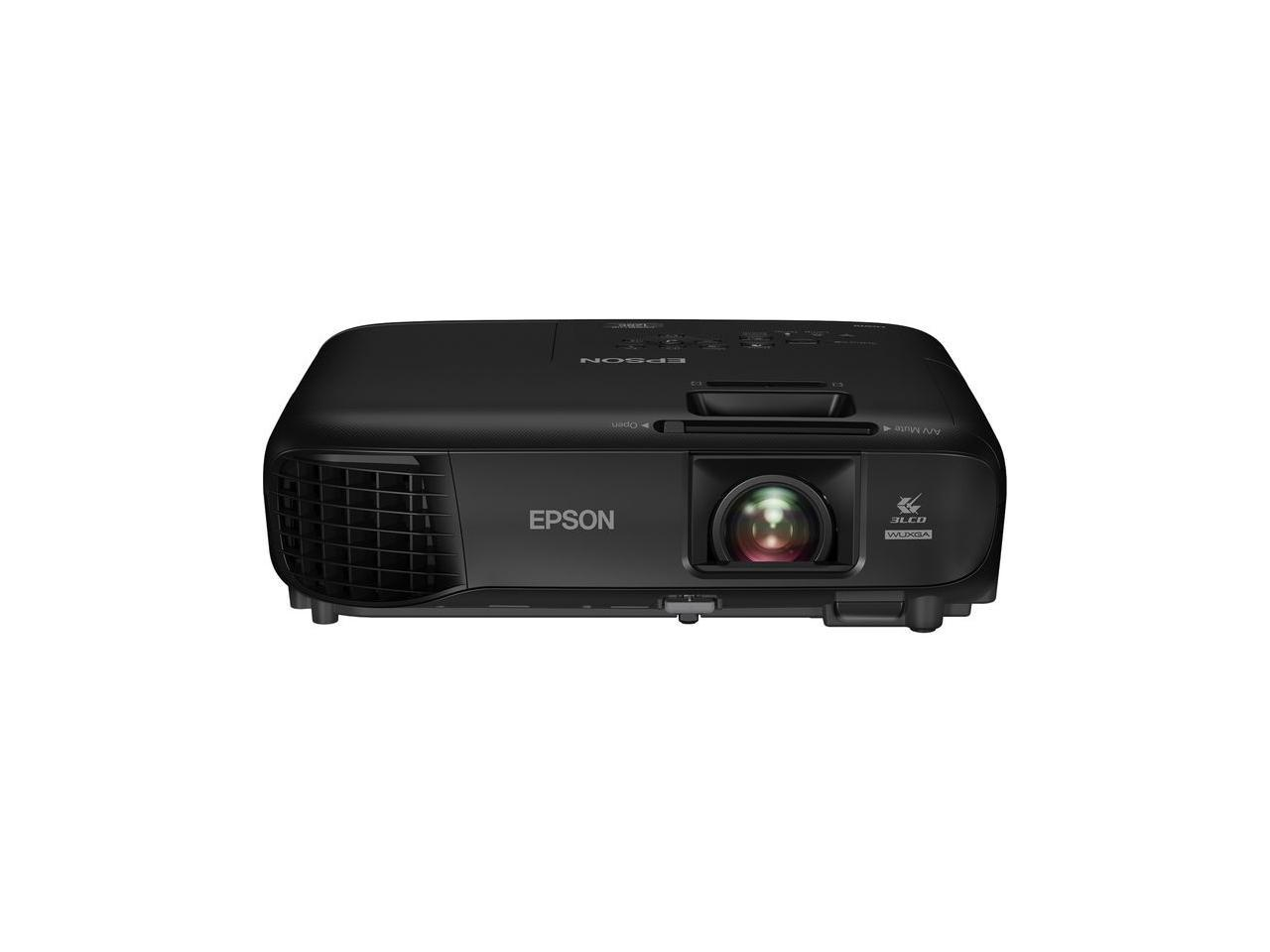 EPSON-PowerLite-1286-Wireless-WUXGA-3LCD-Projector-3600-Lumens-1920-x-1200-1-07 miniature 3