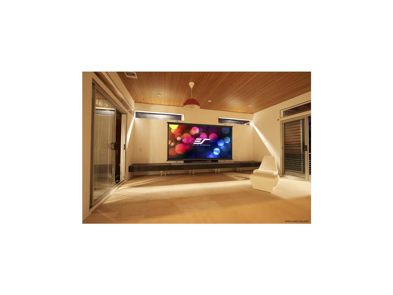 """Elite Screens DIYW135H3 Diy Wall 3 Series 135"""" 16:9 ..."""