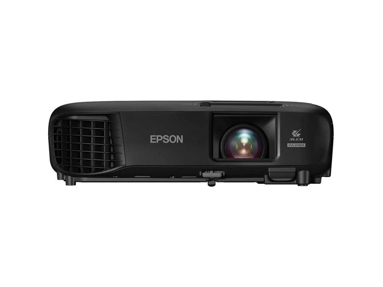 EPSON-PowerLite-1286-Wireless-WUXGA-3LCD-Projector-3600-Lumens-1920-x-1200-1-07 miniature 1