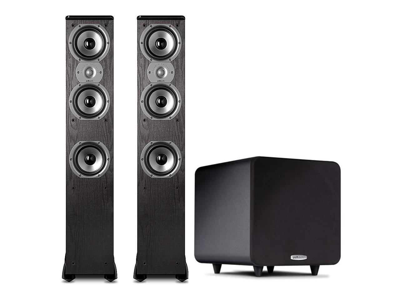 Polk Audio 2.1 Bundle w/ (2) TSi400 Floorstanding Speakers and PSW 111 Subwoofer