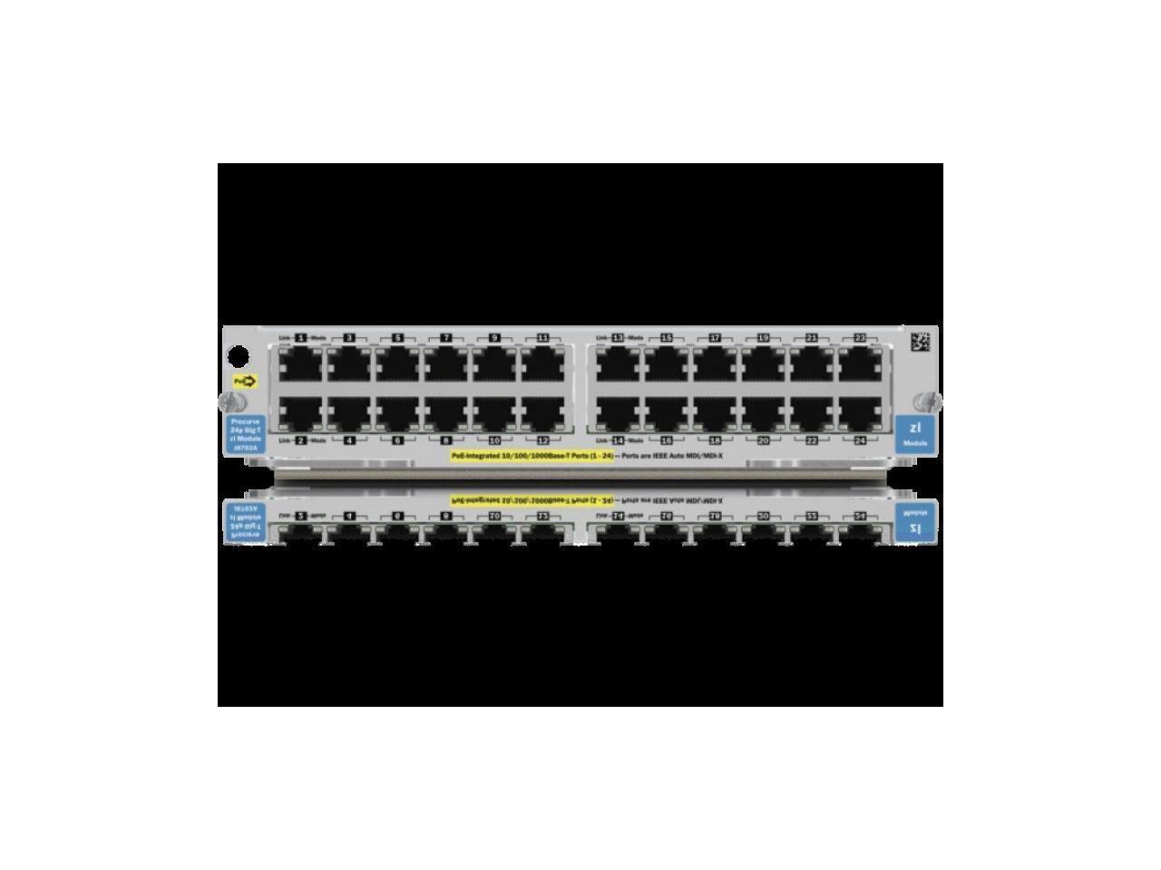 J8702A I HP ProCurve Switch 5400zl 24p 10//100//1000 PoE Module
