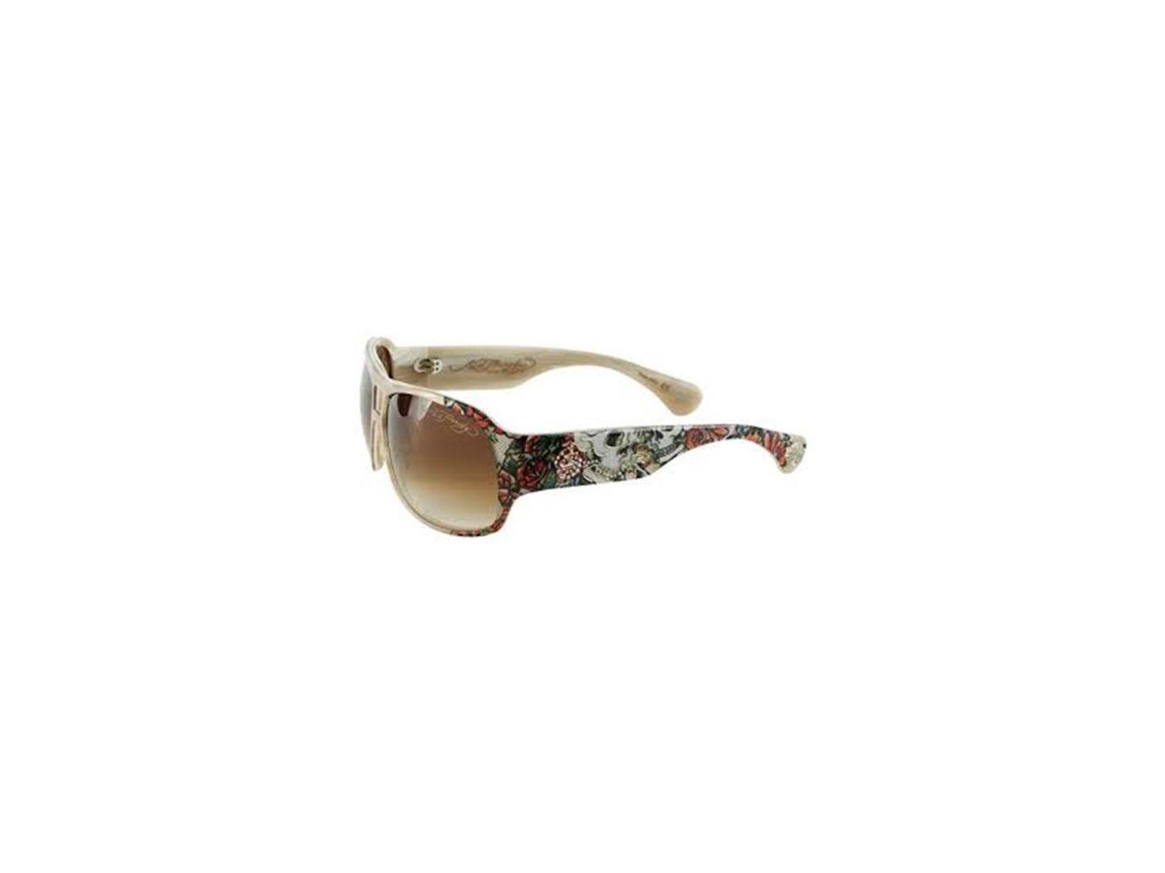 Ed Designer Sunglasses  durable service ed hardy brie skull and roses women 39 s designer
