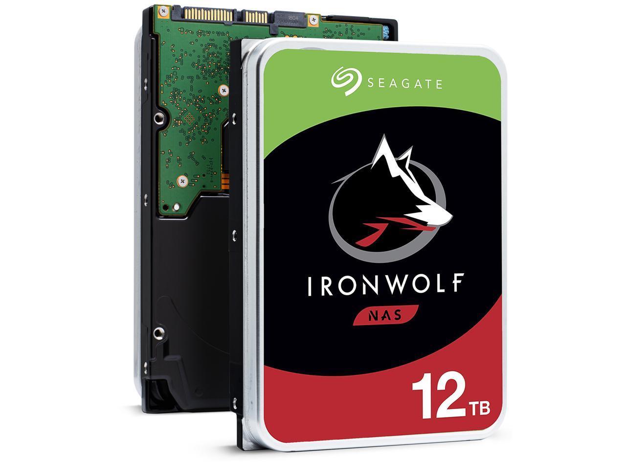 "Seagate IronWolf ST12000VN0008 12TB 3.5"" SATA 7200rpm Intern"