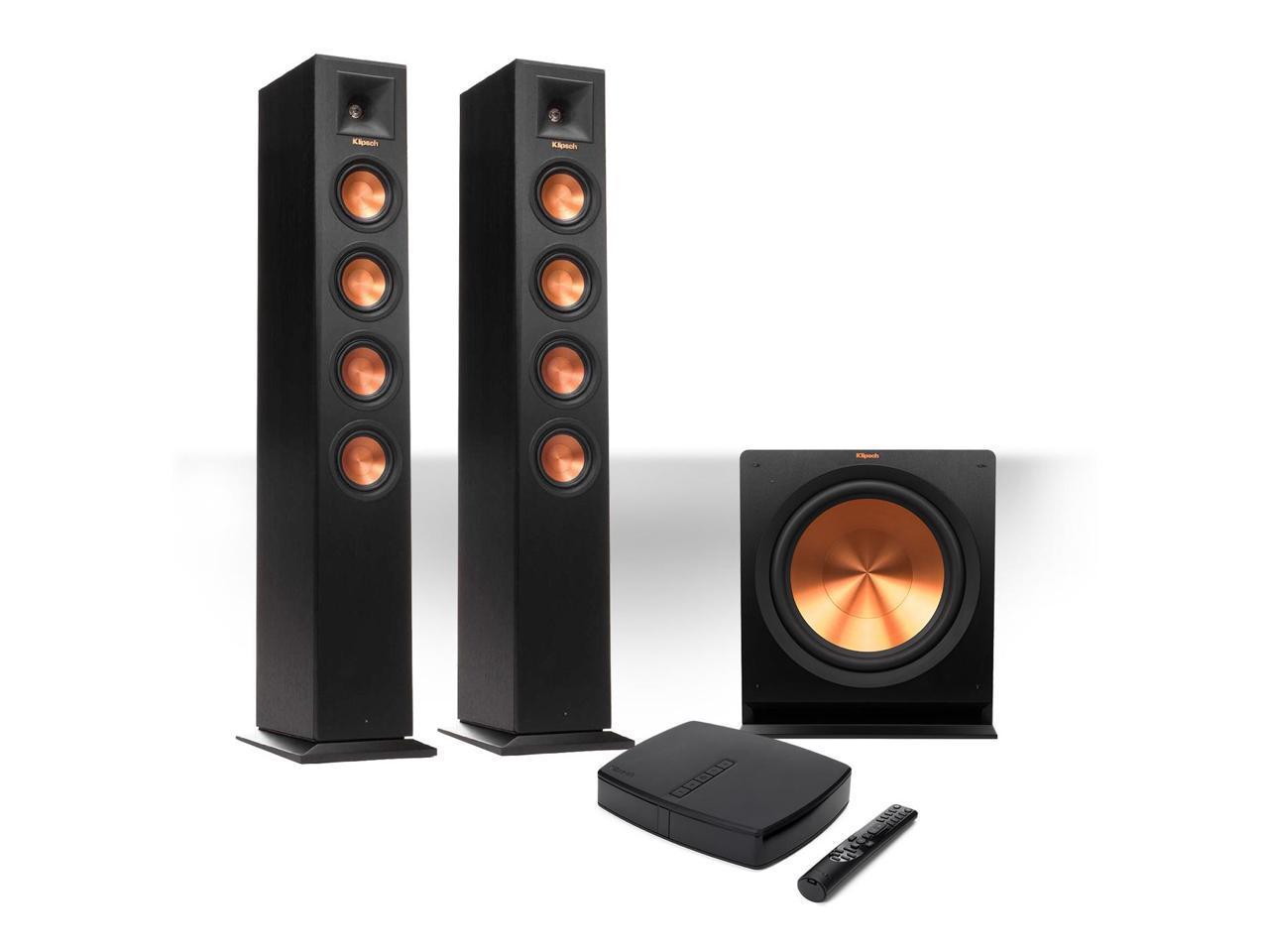Klipsch Reference Premiere HD Wireless 2.1 Floorstanding Speaker System with HD Control Center